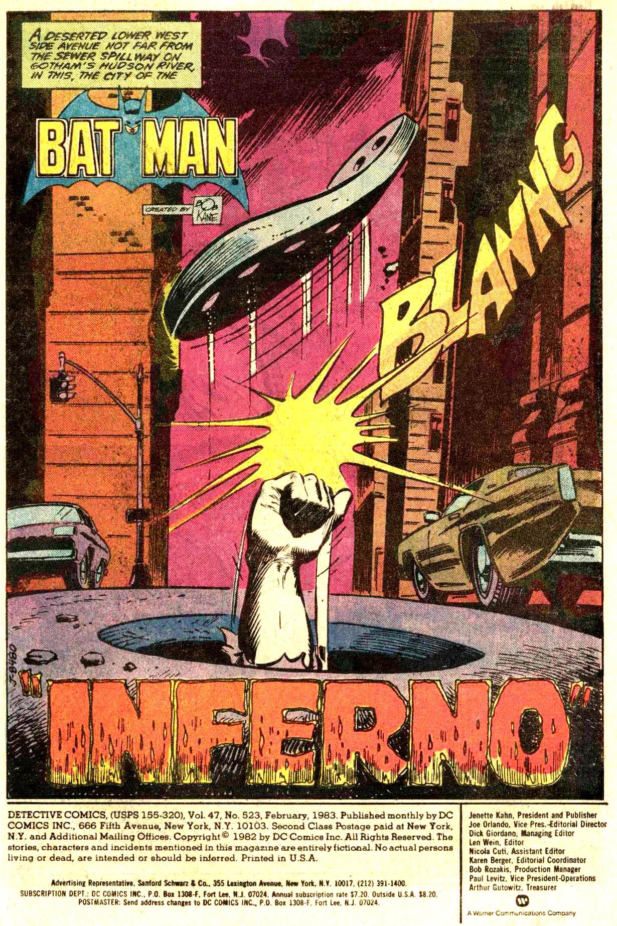 Detective Comics (1937) 523 Page 2