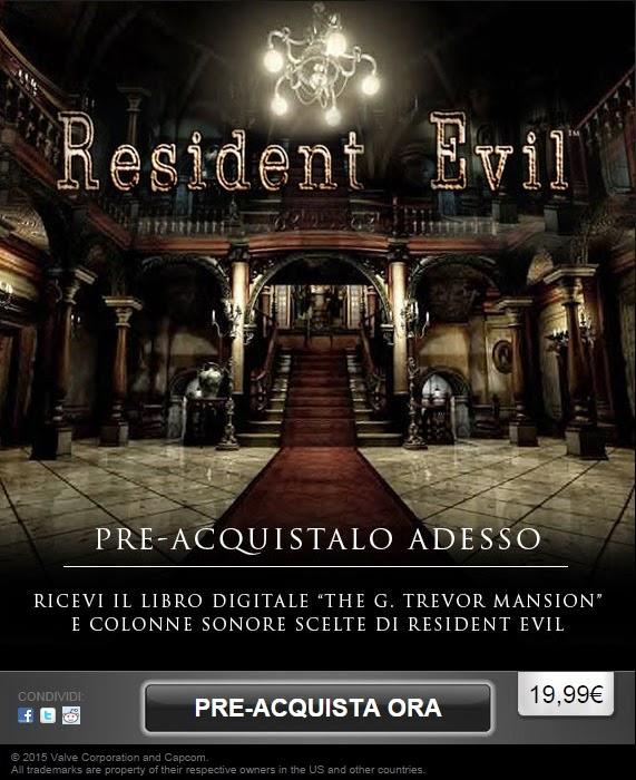 Resident Evil (Steam pre-order)