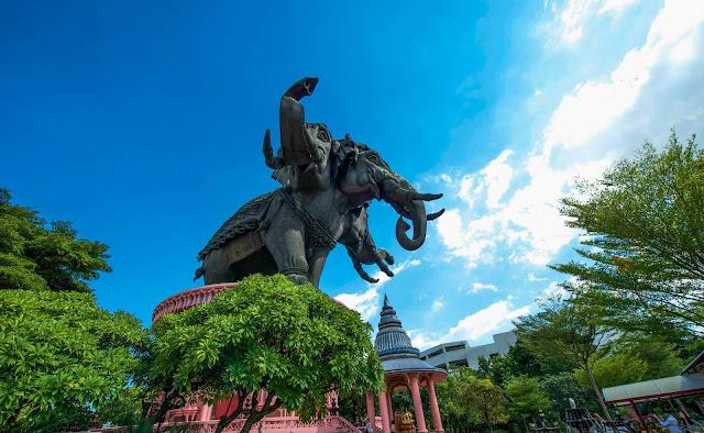 Wisata ke Thailand jangan lupa sempatkan ke The Erawan Museum & Ancient Siam