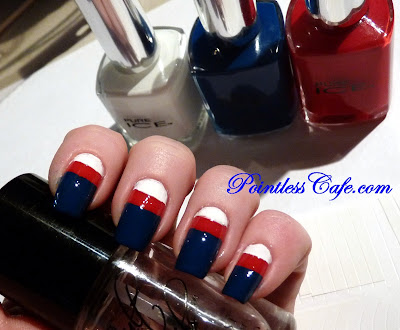 Pure Ice Patriots Mani