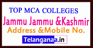 Top MCA Colleges in Jammu Jammu &Kashmir