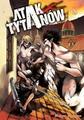 Hajime Isayama - Atak Tytanów t.8