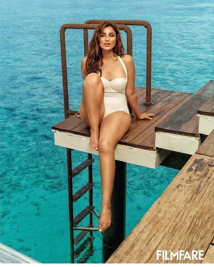 Parineeti Chopra Bikini Photos For Filmfare