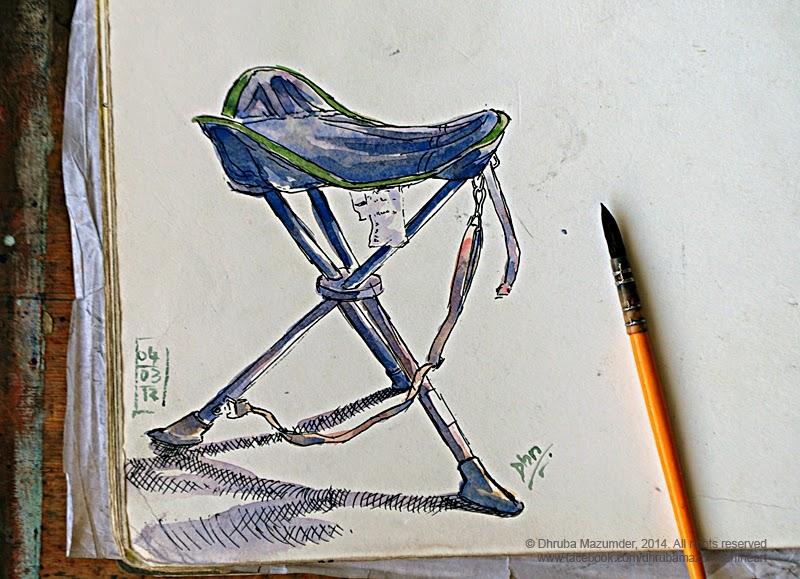 Sensational Dhruba Mazumder Fineart Illustrations Design Prints Bralicious Painted Fabric Chair Ideas Braliciousco