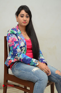Television Anchor Actress Ashwini Pictures in Jeans at Iddharam Audio Launch  0043