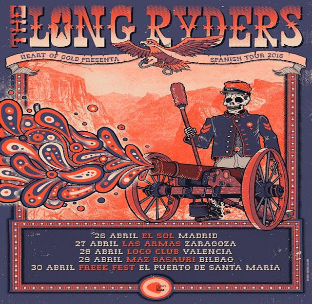LONG RYDERS - Gira abril 2016