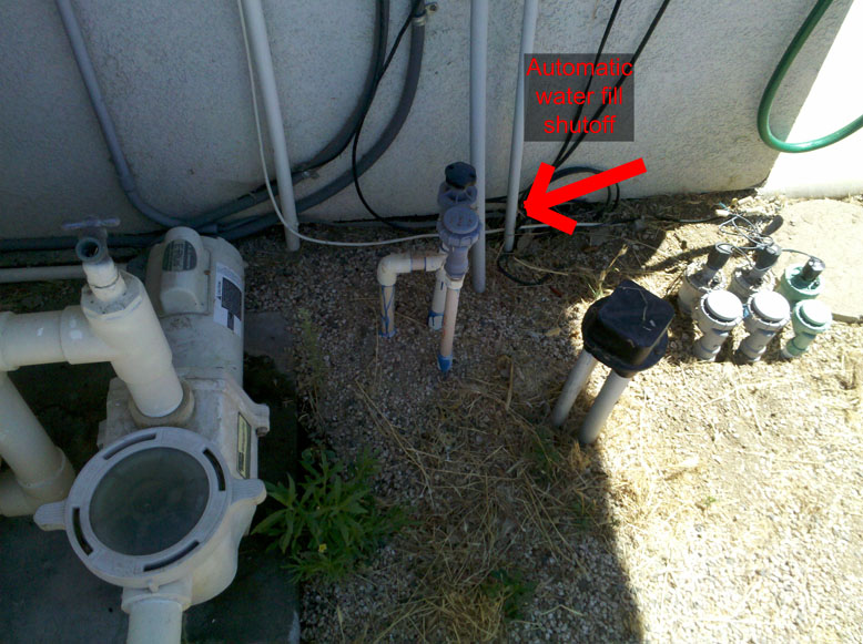 How To Fix A Swimming Pool Automatic Water Fill