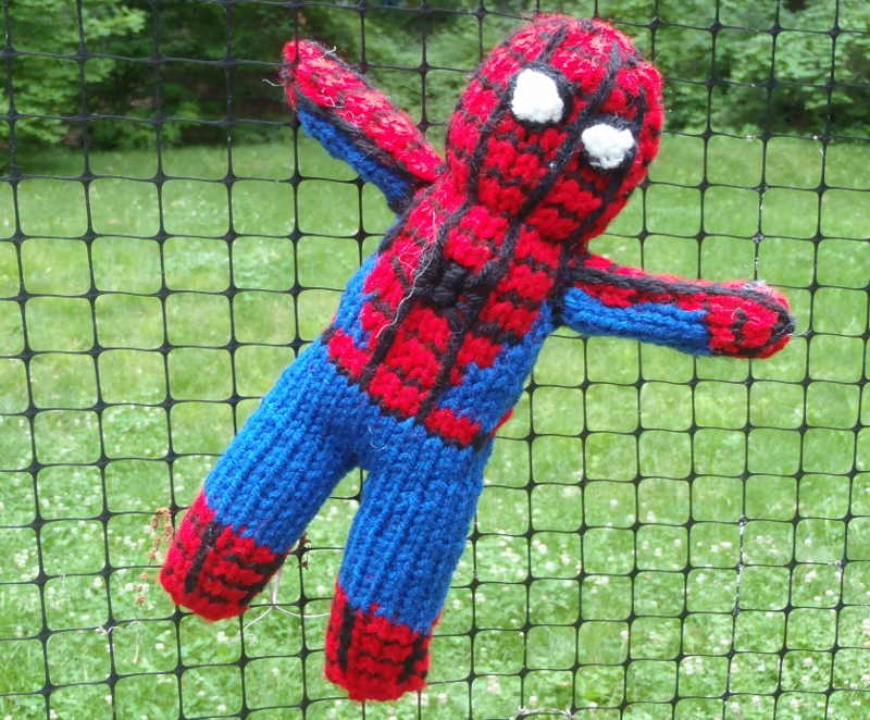 Stanas Critters Etc Knitting Pattern For Spiderman Toy
