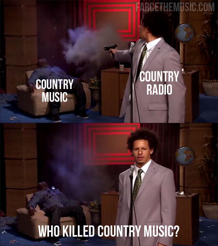 Farce the Music: Who Killed Hannibal Memes: Country Radio ...