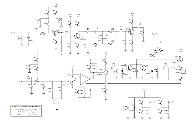 Perf and PCB Effects Layouts Keeley Compressor Schematic on