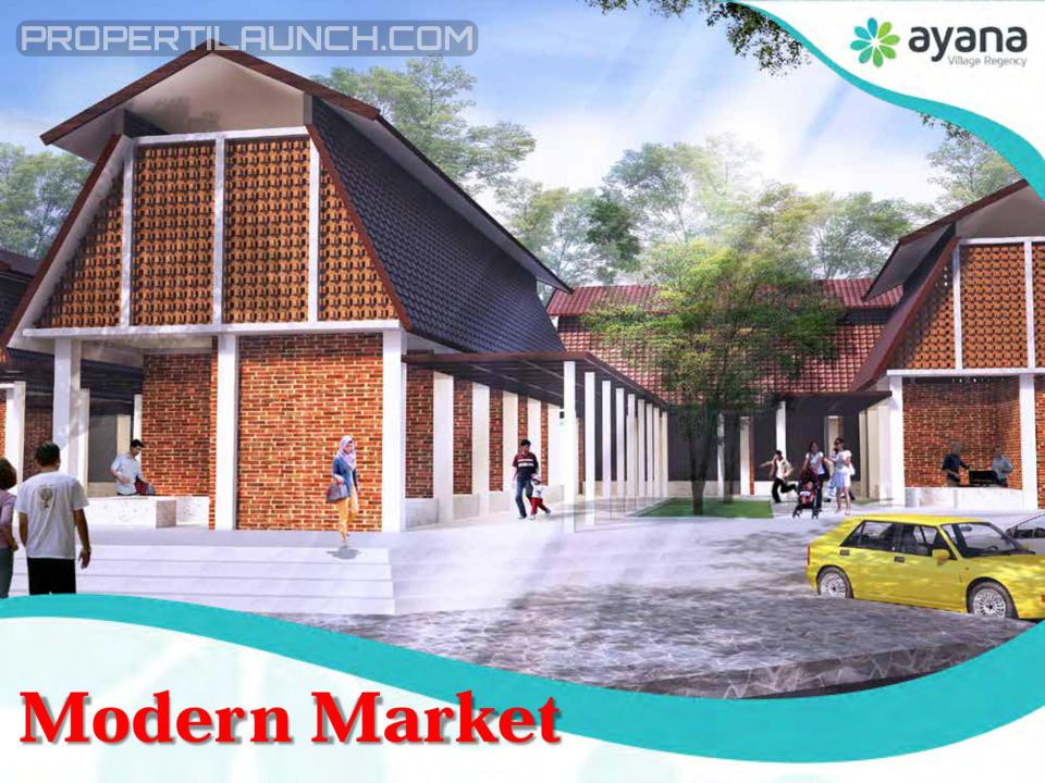 Ayana Village Modern Market