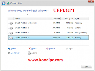 Cara Mudah Instal Windows pada Laptop UEFI tanpa Format Hardisk