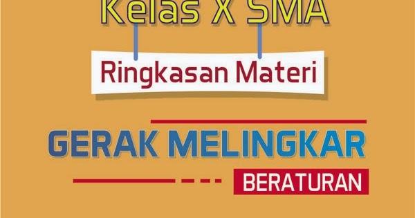 KELAS X | MATERI GERAK MELINGKAR BERATURAN (GMB) - wiki ...