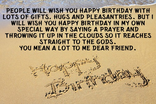 Happy Birthday best friends quotes, saying, wishes image natural