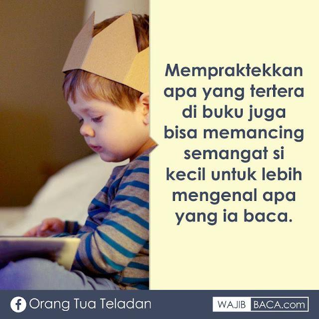 Begini Agar Anak Lebih Kecanduan Membaca Buku daripada Bermain Hp