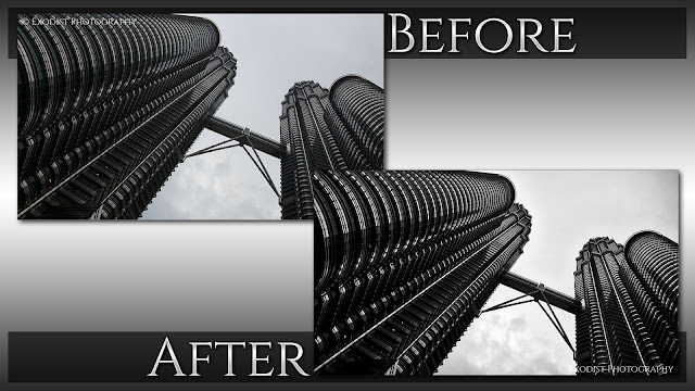 Petronas Towers - Before & After, © Exodist Photography, All Rights Reserved