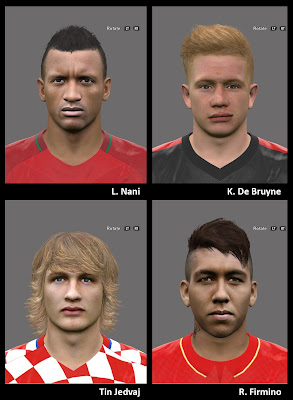 PES 2016 Facepack 4 by A.Mussoullini
