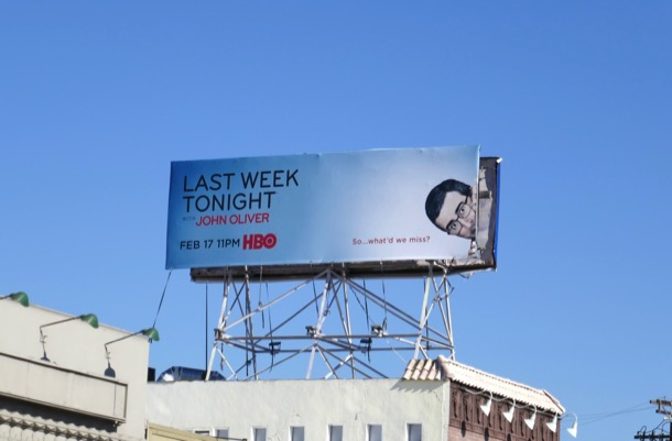 Last Week Tonight John Oliver s6 billboard