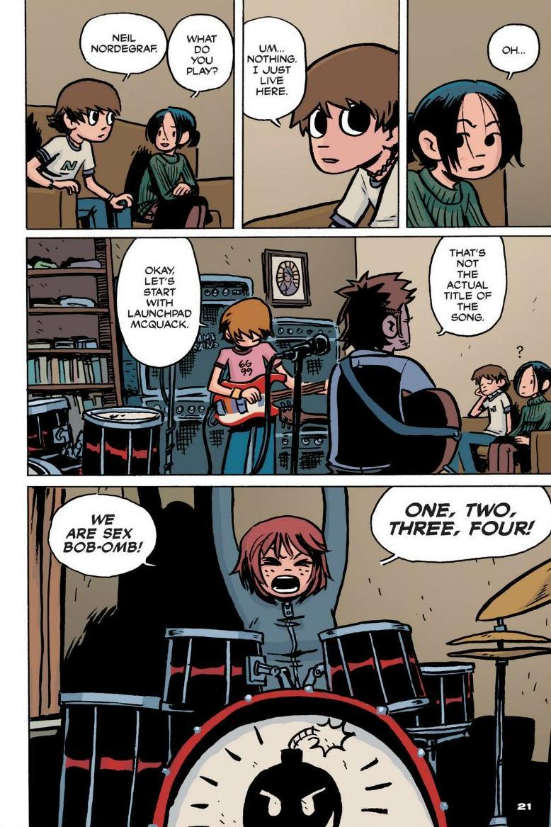 Read online Scott Pilgrim comic -  Issue #1 - 16
