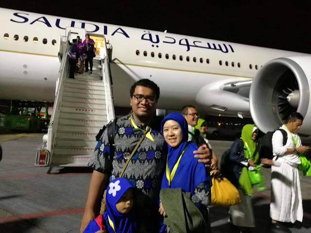 Pengalaman umroh naik Saudia