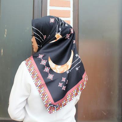 Hijab Maxmara Motif Cantik