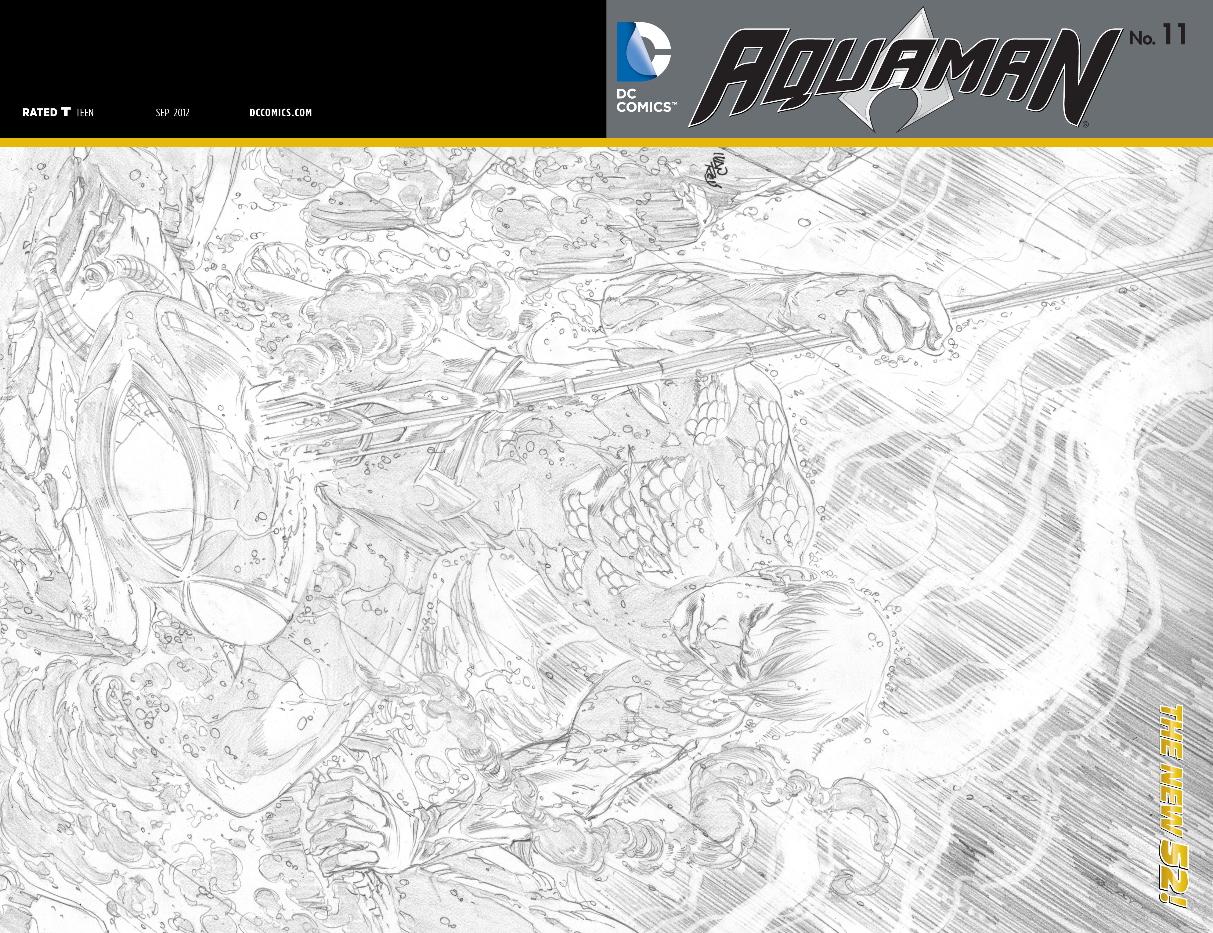 Read online Aquaman (2011) comic -  Issue #11 - 21