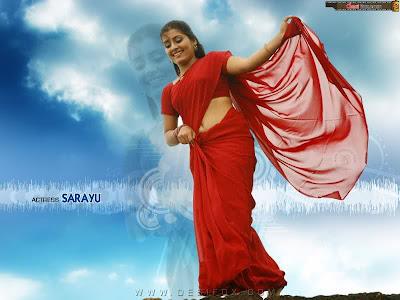 Sarayu Hot Navel
