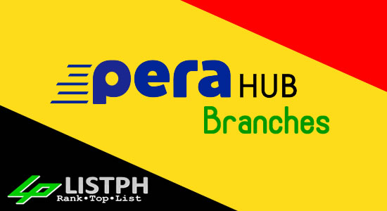 List of PeraHub branches Philippines