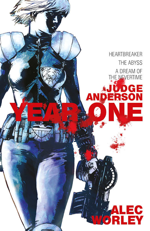 Interview with Alec Worley, author of Judge Anderson: Year One