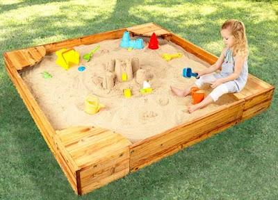 Cajas de arena juegos infantiles 15 magnificas ideas