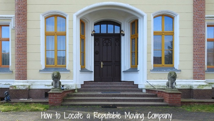 How to Locate a Reputable Moving Company