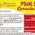 PSOL de Caraúbas (RN), realizará importante encontro na manhã de hoje (26) na cidade