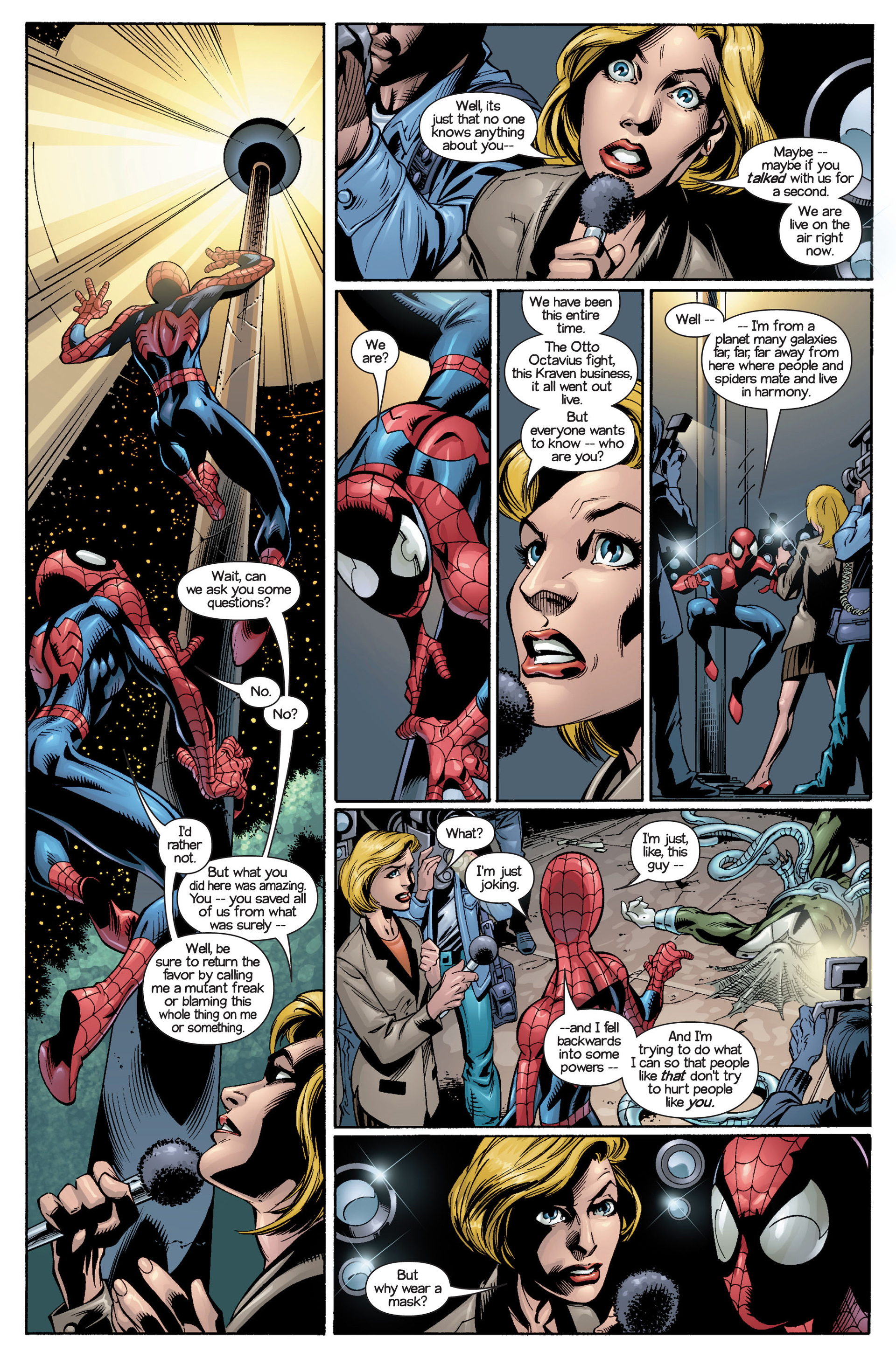 Read online Ultimate Spider-Man (2000) comic -  Issue #21 - 8