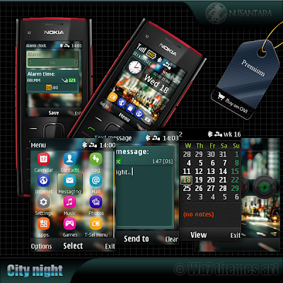 City theme for nokia s40 x2-00 x2-02 x2-05 asha 206