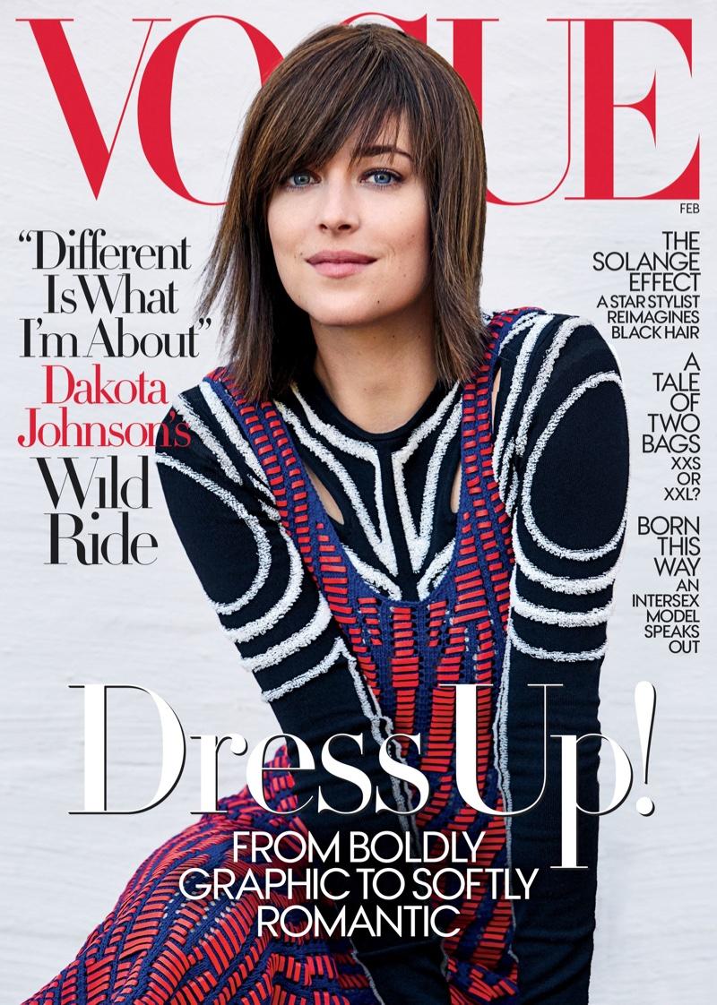 Dakota Johnson goes chic for Vogue February 2017