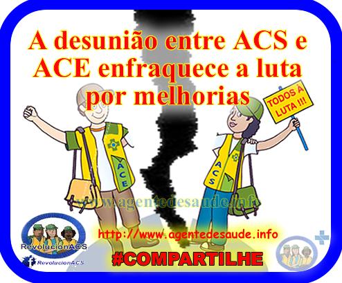 A desunião entre ACS e ACE enfraquece a luta por melhorias 1
