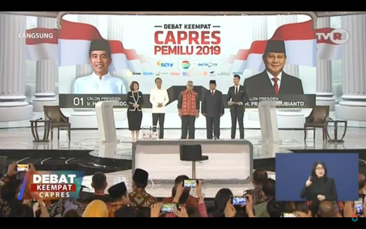 """Tak Paham Pertahanan, Jokowi Kena """"Smash"""" Prabowo"""