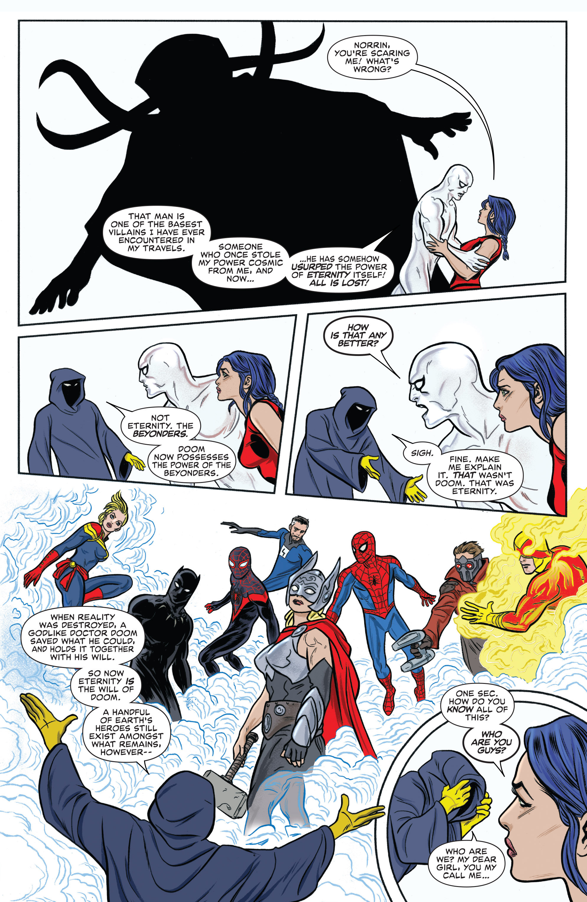 Read online Silver Surfer (2014) comic -  Issue #13 - 17
