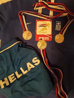 Μεγάλες επιτυχίες και πολλά μετάλλια για τους Λέσβιους αθλητές Α. Κοντακα και Α. Κελμαλη στο 3ο Βαλκανικό πρωτάθλημα Master κλειστού Στίβου (pics, vid)