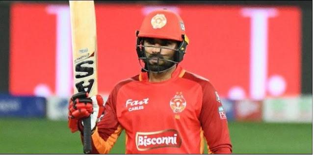 Islamabad united beaten Karachi Kings by 5 wickets