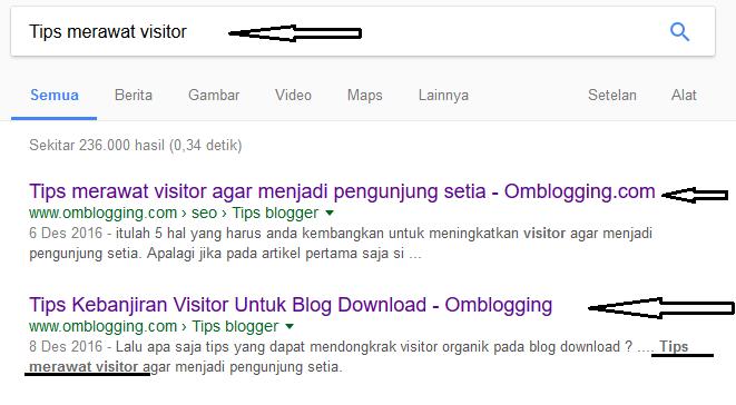 tips menjaga visitor