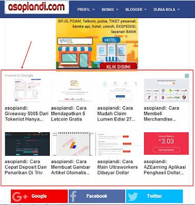 Cara Mendapatkan Matched Content Di Google Adsense