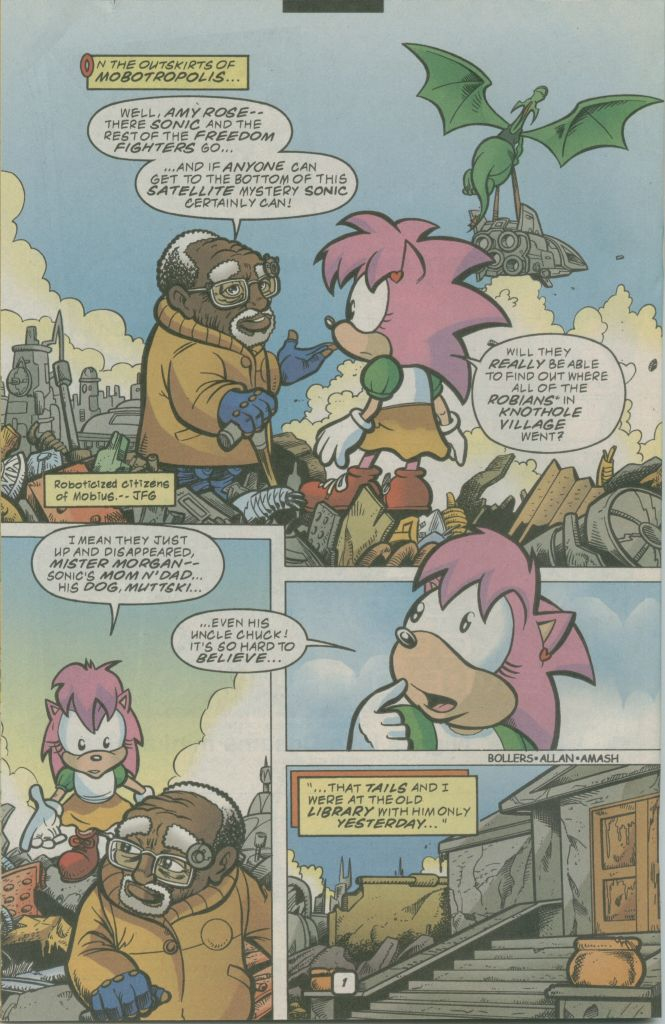 Read online Sonic The Hedgehog comic -  Issue #74 - 22