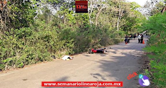 1 mujer muerta y 1 hombre lesionado fue el saldo de accidente carretero en José María Morelos