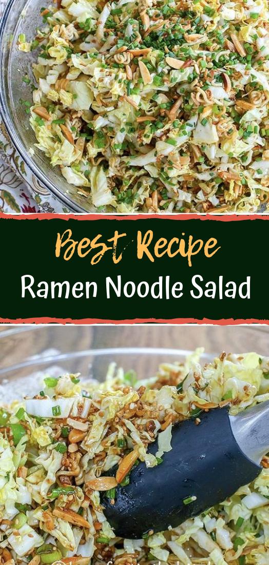 Ramen Noodle Salad #vegan #recipevegetarian