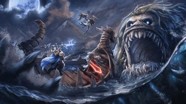 Novo modo de jogo de Smite com elementos de RPG e grandes batalhas em reinos nórdicos