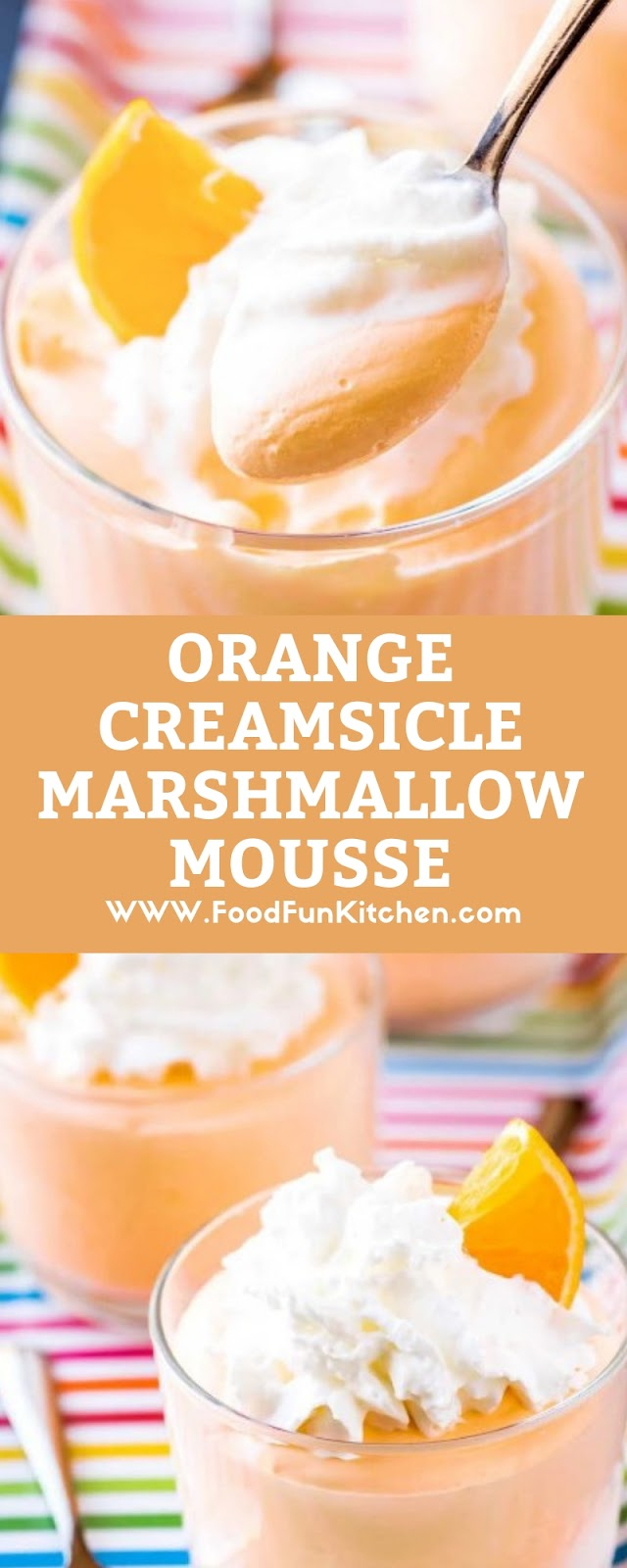 ORANGE CREAMSICLE MARSHMALLOW MOUSSE