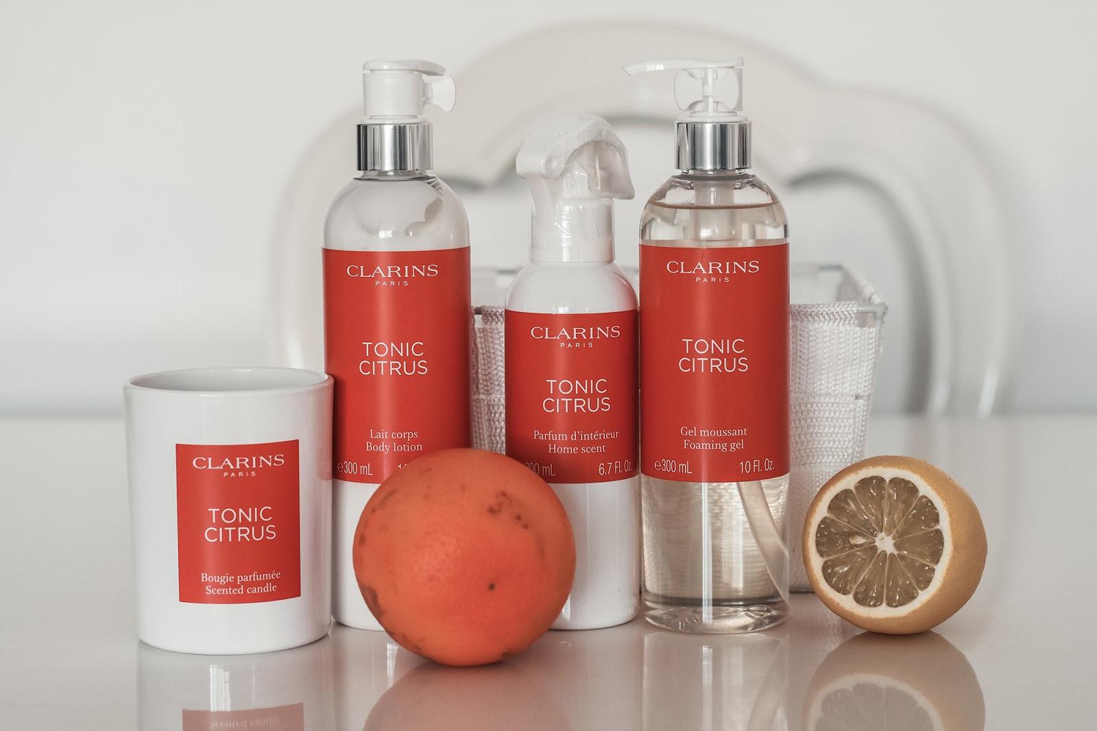 linea tonic citrus clarins