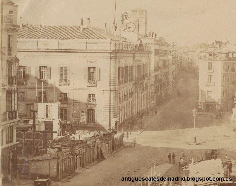 Antiguos caf s de madrid y otras cosas de la villa bar for Puerta del sol 9 madrid