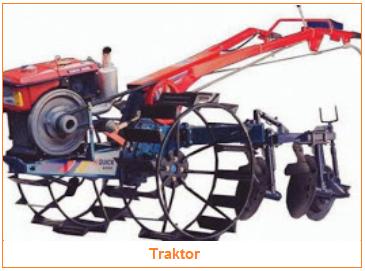 Teknologi Produksi - Jenis-Jenis Teknologi - Traktor